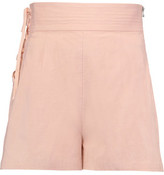 Sea Camper Lace-Up Cotton-Canvas Shorts