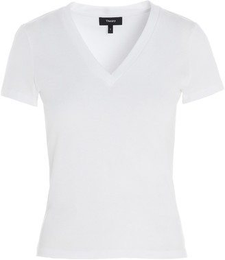Theory V-Neck Tiny T-Shirt