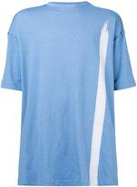 Raf Simons short sleeve single stripe T-shirt - men - Cotton - M