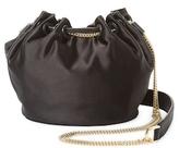 Diane von Furstenberg Mini Satin Crossbody Bag