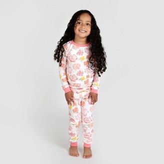 Burt's Bees Baby Toddler Girls' Rosy Spring Organic Cotton Pajama Set -