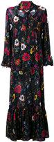 McQ by Alexander McQueen floral print v-neck dress - women - Polyester - 40