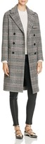 Maje Gilbert Plaid Coat