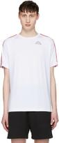 Gosha Rubchinskiy White Kappa Edition Logo Sleeve T-shirt