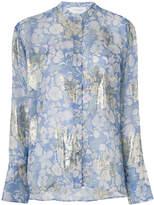Christian Wijnants Tara semi-sheer floral shirt