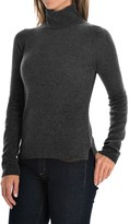 Adrienne Vittadini Cashmere Turtleneck Sweater (For Women)