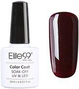 Qimisi Wine Red Range Soak Off Gel Polish UV LED Varnish 10ml 012