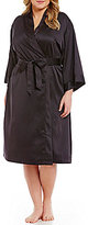 Cabernet Plus Satin Robe