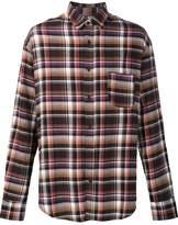 The Elder Statesman deadstock flannel checked shirt
