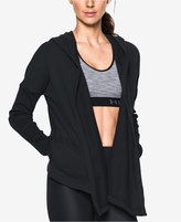 Under Armour Open-Front Hooded Terry Cardigan