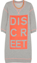 Richard Nicoll Discreet printed cotton-jersey sweatshirt dress