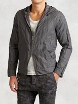 John Varvatos Cotton Raglan Hooded Jacket