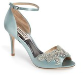 Badgley Mischka Women's Barker Ankle Strap D'Orsay Pump