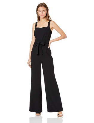 Cupcakes And Cashmere Women's Chandra crepejumpsuit w/tie Belt