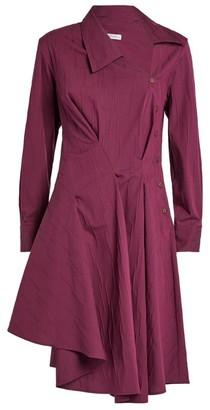 Palmer Harding Palmer//Harding Enata Wrap-Front Shirt Dress