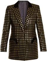 BLAZÉ MILANO Marquita Everyday square-jacquard blazer
