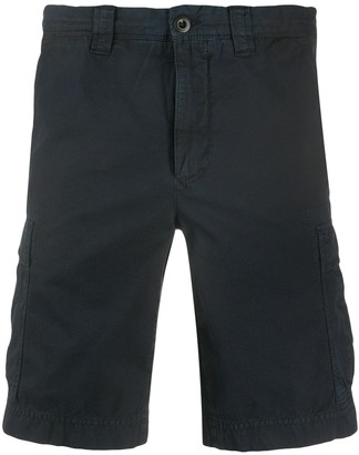 Incotex Relaxed-Fit Logo Cargo Shorts