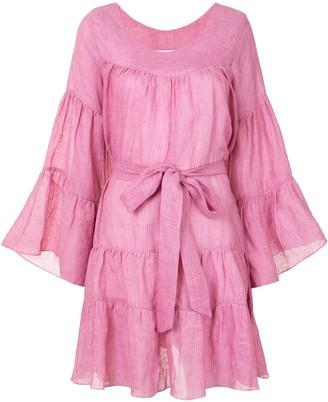 Bambah Tiered Mini Dress