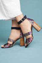 Anthropologie Mosaic Heels