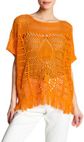 Trina Turk Kimber Crochet Pullover