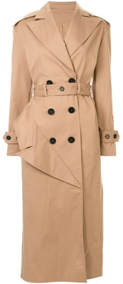 Ruban Belted Trench Coat