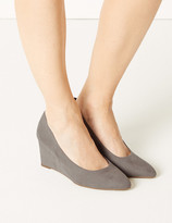 Marks and Spencer Wedge Heel Court Shoes