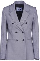 MSGM Houndstooth Double-breasted Blazer
