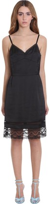 Marc Jacobs Dress In Black Polyester