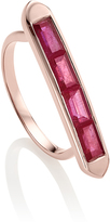 Monica Vinader Precious Ruby Baja Ring