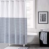 DKNY Parsons Stripe Shower Curtain