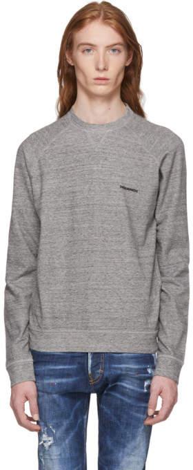 DSQUARED2 Grey Logo Sweatshirt