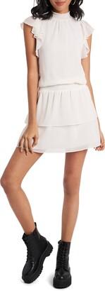 1 STATE Flutter Sleeve Dress