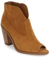 Jessica Simpson Women's Open Toe Zip Bootie