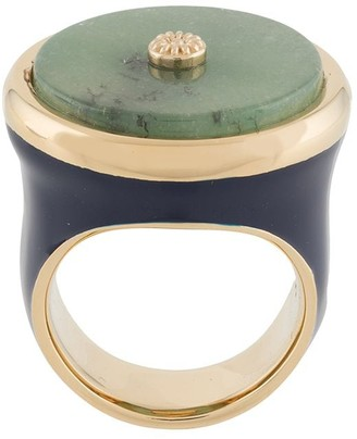 Lanvin Mother and Child seal ring