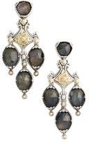 Konstantino Women's Cassiopeia Triple Drop Chandelier Earrings