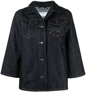 Societe Anonyme Embroidered Denim Jacket