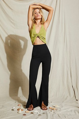 Free People Real Deal Slit Pants