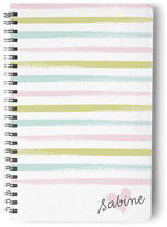 Minted Pastel Brushstroke Day Planner, Notebook, or Address Book