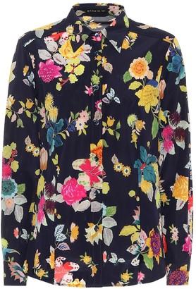Etro Floral stretch-silk shirt