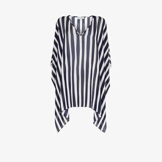 ODYSSEE Striped Kaftan Dress
