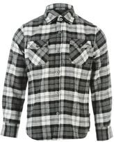 Lee Cooper Kids Flannel Shirt Junior Boys Long Sleeve Top Button Down