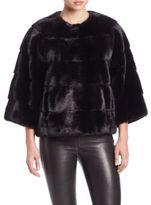 Zandra Rhodes Mink Jacket
