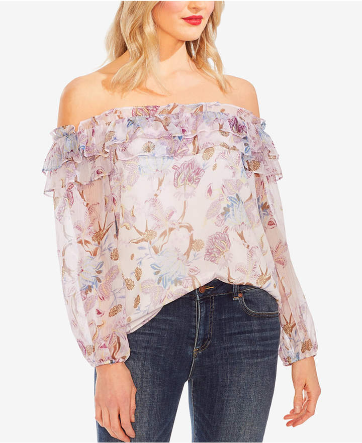 b5d16bf1dc40f6 Vince Camuto Women's Longsleeve Tops - ShopStyle