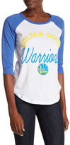 Junk Food Clothing Golden State Warriors 3/4 Length Sleeve Tee