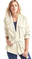 Gap Tencel® utility wrap jacket