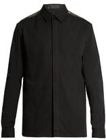 Haider Ackermann Depougy embellished cotton shirt