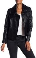 Dawn Levy Hi-Lo Leather Jacket