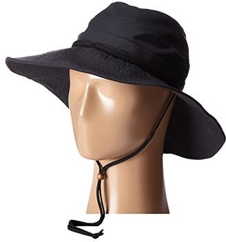 San Diego Hat Company CTH8021 Sun Brim Hat (Black) Caps