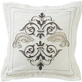 HiEnd Accents Charlotte Embroidered Square Pillow