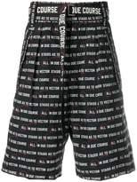 Sacai Vector print shorts